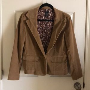 New Frontier Camel Colored Blazer